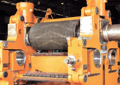Crusher Rolls include Hardfacing