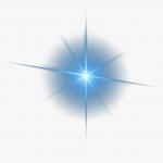 88 885851 decorative triangle symmetry light material effect star lens