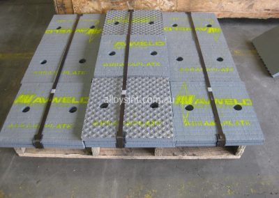AbrasaPlate® Quarry Impact Plates