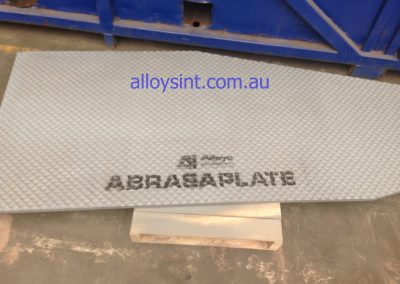 AbrasaPlate®-X cross hatch wear plate