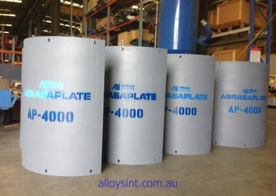 Coal Fired Power Station Wear Plates