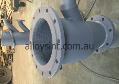 Internally Hardfaced Pump Spool