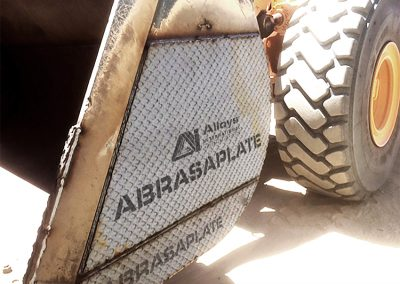 Bucket with AbrasaPlate® X
