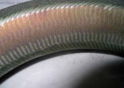 Stellite™ welded valve seat
